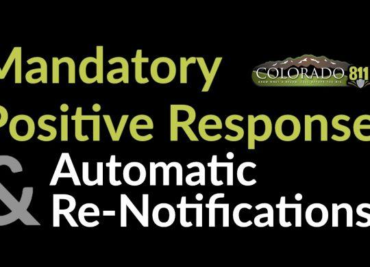 Positive Response Automatic Renotification