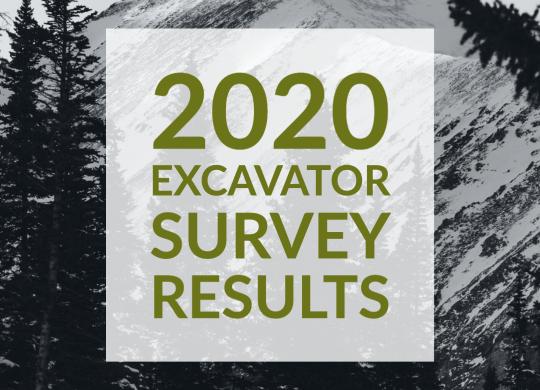 2020 Excavator Survey Results Image