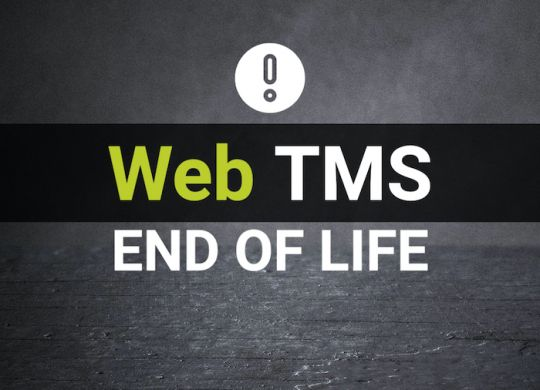 WebTMS End of Life Website Graphic