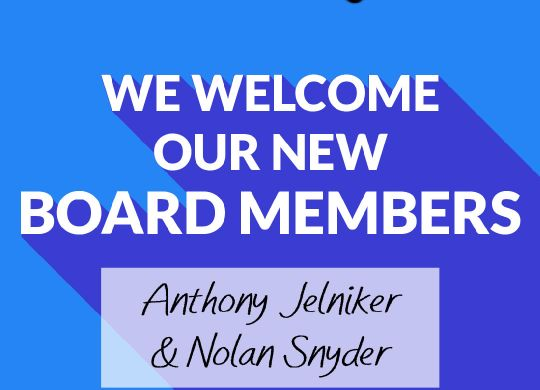 New Board Members AJ NS