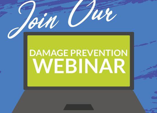 Damage Prevention Webinar